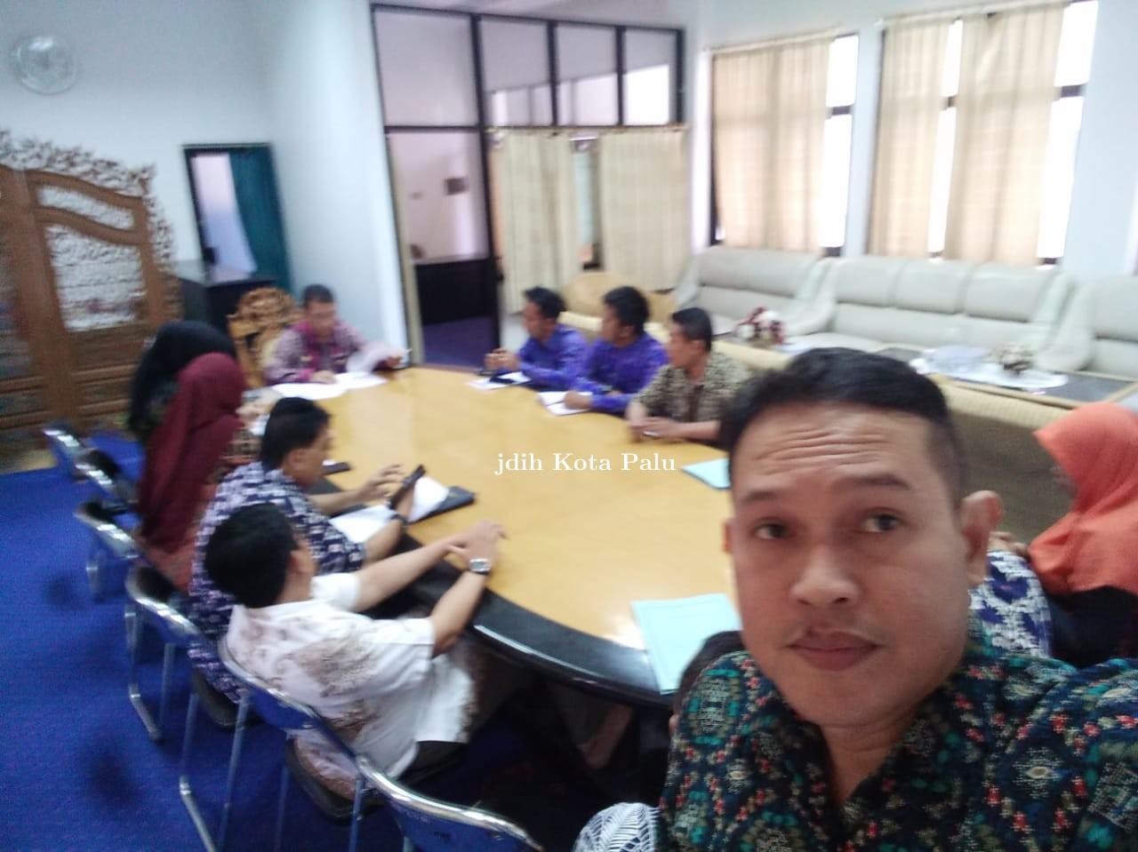 Rapat PDAM kota Palu