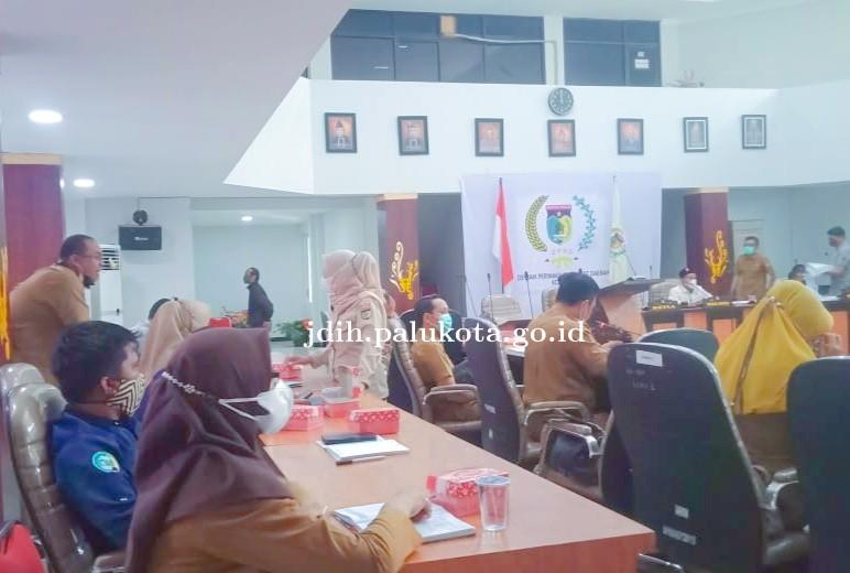 Rapat Badan Anggaran Membahas Sarana dan Pendapat Kepada Waki Kota Palu Dalam Rangka Mempersiapkan R