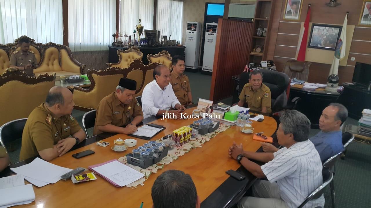 Rapat Percepatan Perbaikan atau Rekonstruksi kembali PLTU Panau Pada hari senin, 16-09-2019